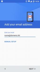 setari gmail