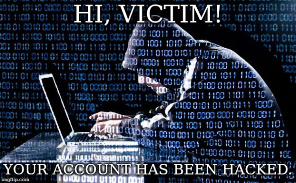 """Hi, victim"" – Santaj prin SPAM"